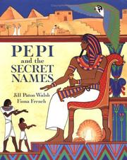 Cover of: Pepi and the secret names