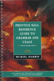 Cover of: Prentice Hall Reference Guide to Grammar With Exercises
