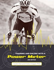 Cover of: Training and Racing with a Power Meter, 2nd Ed.