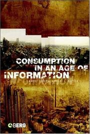 Cover of: Consumption in an Age of Information |