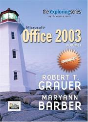 Cover of: Exploring Microsoft Office 2003 Enhanced Edition- Adhesive