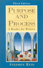 Cover of: Purpose and process