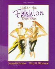 Cover of: Inside the fashion business