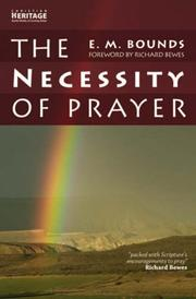 Cover of: The Necessity of Prayer