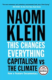Cover of: This Changes Everything | Naomi Klein