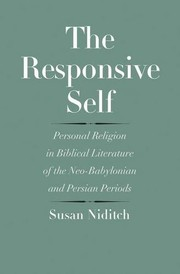 Cover of: The Responsive Self