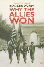 Cover of: Why the Allies Won