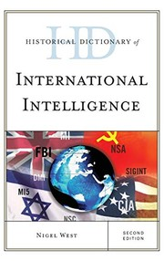 Cover of: Historical Dictionary of International Intelligence