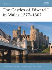 Cover of: The Castles of Edward I in Wales 1277-1307 (Fortress)