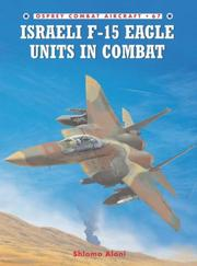 Cover of: Israeli F-15 Eagle Units in Combat (Combat Aircraft)