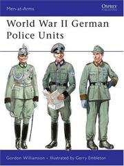 Cover of: World War II German Police Units