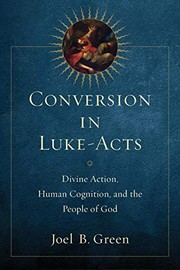 Cover of: Conversion in Luke-Acts