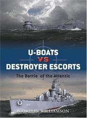 Cover of: U-boats vs Destroyer Escorts
