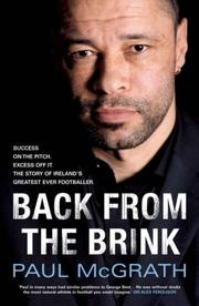 Cover of: Back from the Brink | Paul Mcgrath