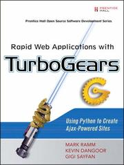 Cover of: Rapid Web Applications with TurboGears | Mark Ramm