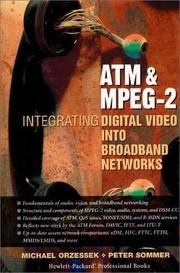 ATM & MPEG-2 by Michael Orzessek, Peter Sommer