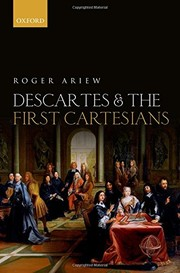 Cover of: Descartes and the First Cartesians