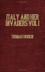 Cover of: Italy And Her Invaders - The Visigothic Invasion