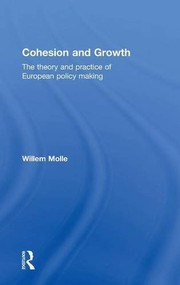 Cover of: Cohesion and Growth