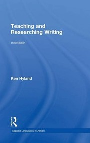 Cover of: Teaching and researching writing