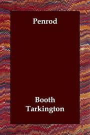 Cover of: Penrod | Booth Tarkington