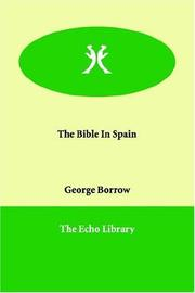 Cover of: The Bible in Spain