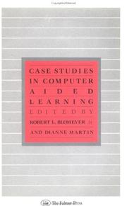 Cover of: Case studies in computer aided learning |