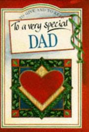 Cover of: To a Very Special Dad (To Give and to Keep) (To-Give-and-to-Keep) | Pam Brown