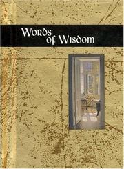 Cover of: Words of Wisdom (Words for Life) | Helen Exley