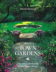 Cover of: Town gardens