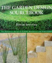 Cover of: The Garden Design Sourcebook | David Stevens