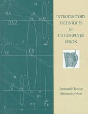 Introductory Techniques for 3-D Computer Vision