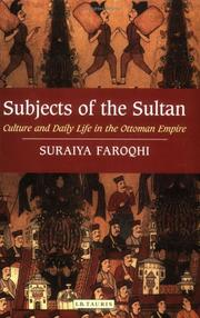 Cover of: Subjects of the Sultan | Suraiya Faroqhi