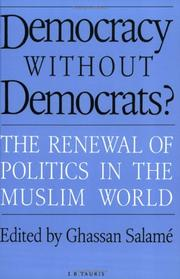 Cover of: Democracy Without Democrats? | Ghassan Salame
