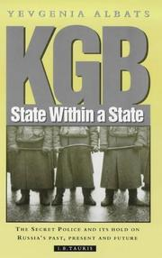 Cover of: KGB
