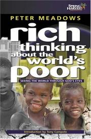 Cover of: Rich Thinking About the World's Poor
