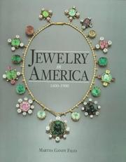 Cover of: Jewelry in America, 1600-1900
