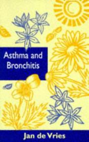 Cover of: Asthma and Bronchitis (By Appointment Only Series)