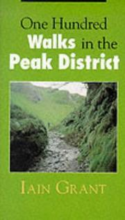 Cover of: 100 Hill Walks in the Peak District (One Hundred Walks)