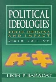 Political Ideologies by Leon P. Baradat