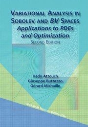 Cover of: Variational Analysis in Sobolev and BV Spaces