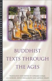 Cover of: Buddhist Texts Through the Ages (Oneworld Classics in Religious Studies)