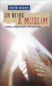 Cover of: On being a Muslim