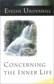 Cover of: Concerning the Inner Life