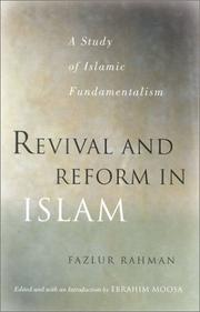 Cover of: Revival and Reform in Islam | Fazlur Rahman