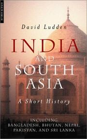 Cover of: India And South Asia | David Ludden