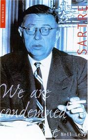 Cover of: Sartre (Oneworld Philosophers) | Neil Levy