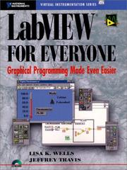 Cover of: LabVIEW for everyone