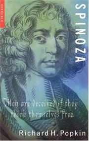 Cover of: Spinoza (Oneworld Philosophers) | Richard H. Popkin