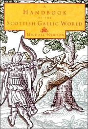 Cover of: A handbook of the Scottish Gaelic world